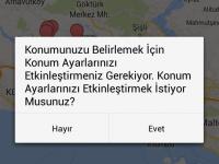Android- GPS Konum Servisleri
